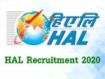 HAL Recruitment 2020: 2000 ಅಪ್ರೆಂಟಿಸ್ ಹುದ್ದೆಗಳಿಗೆ ಅರ್ಜಿ ಆಹ್ವಾನ