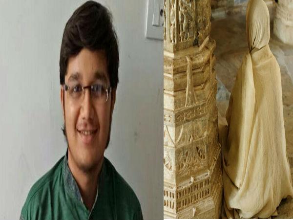 ಪ್ರಥಮ ರ್ಯಾಂಕ್ ಪಡೆದ ವಿದ್ಯಾರ್ಥಿ ಈಗ ಜೈನ ಸನ್ಯಾಸಿ