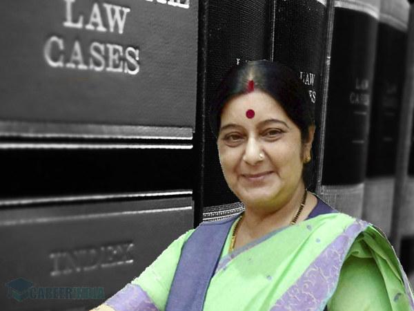 ಸುಷ್ಮಾ ಸ್ವರಾಜ್ ಅವರ ಶೈಕ್ಷಣಿಕ ಜೀವನಚರಿತ್ರೆ