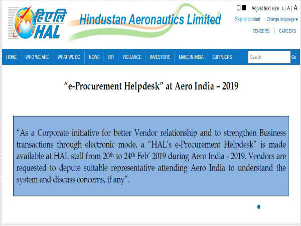 HAL Recruitment 2019: 18 ವಿವಿಧ ಹುದ್ದೆಗಳಿಗೆ ಅರ್ಜಿ ಆಹ್ವಾನ