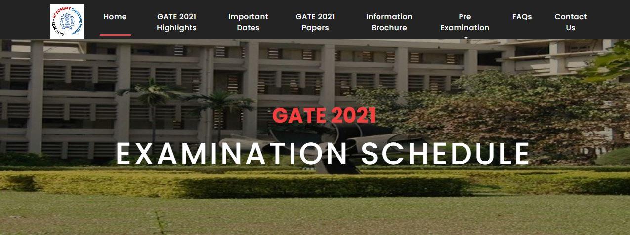 ಗೇಟ್ 2021 ಪರೀಕ್ಷೆಯ ವೇಳಾಪಟ್ಟಿ ರಿಲೀಸ್