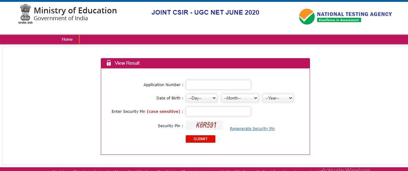 CSIR UGC NET June 2020 Results: ಅಭ್ಯರ್ಥಿಗಳು ಫಲಿತಾಂಶ ವೀಕ್ಷಿಸುವುದು ಹೇಗೆ?