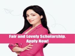 Fair Lovely Foundation Scholarships