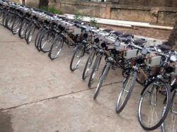 Free Bicycles Distribution For Hostel Students