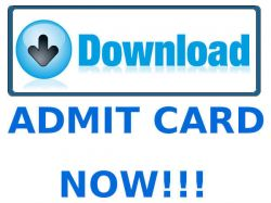 Upsc Iss And Ies E Admit Cards