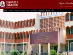 Admissions Open At Gulbarga University For Pg And Pg Diploma
