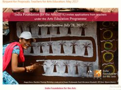 Ifa Invites Applications For Arts Education From Teachers