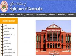 Haveri District Court Recruiting Stenographers