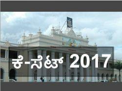 Mysore University Released Kset 2017 Notification