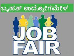 Mega Job Fair In Hassan On November