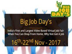 Big Job Days Online Mega Job Fair