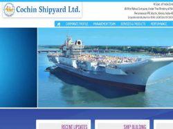 Cochin Shipyard Recruitments For Executive Trainees
