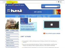 Hmt Limited Recruitment 2018 For General Manager