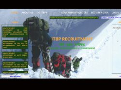 Itbp Recruitment For 218 Constables Posts