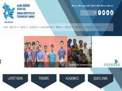 Iit Jammu Recruitment 2019 52 Registrar Ja Je Other Pos