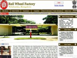 Rail Wheel Factory Recruitment 2019 For Retired Employee