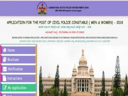Ksp Civil Police Constable Et Pst Admit Card 2019 Released