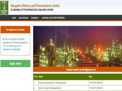 Mrpl Recruitment 2019 For 12 Manager Executive Posts