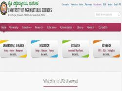 Uas Dharwad Recruitment 2019 For 4 Sms Agromet Observer P