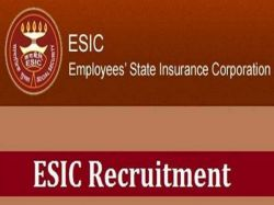 Esic Recruitment 2019 For 10 Tutor Posts