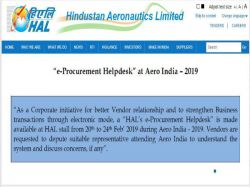 Hal Recruitment 2019 For 7 Various Posts