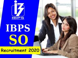 Ibps Recruitment 2019 For 1163 Specialist Officer Posts