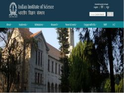 Iisc Recruitment 2019 For Manager Post