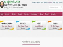 Uas Dharwad Recruitment 2019 Walk In Interview For 22 Various Posts
