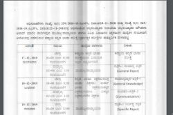 Kpsc 2019 Released Exam Time Table For Head Master Teacher Posts