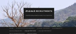 Kfd Recruitment 2020 For 3 Forest Settlement Officer Posts