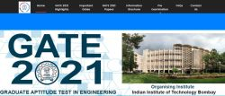 Iit Bombay Gate 2021 Exam Important Dates Released