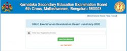 Karnataka Sslc Revaluation Result 2020 Announced Here Is How To Check