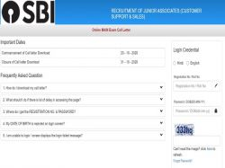 Sbi Clerk Mains Admit Card 2020 Released Here Is How To Download