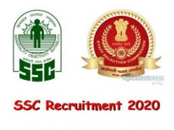 Ssc Recruitment 2020 For Stenographer Grade C And D Posts