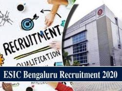 Esic Karnataka Recruitment 2020 Walk In Interview For Tutor Posts
