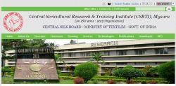 Csrti Mysore Recruitment 2020 For 2 Junior Research Fellow Posts