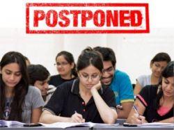 List Of Universities Postponed Semester Exams Due To Covid