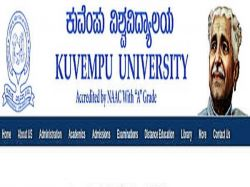 Kuvempu University Postponed Theory And Practical Exams Of All Ug Courses Due To Covid