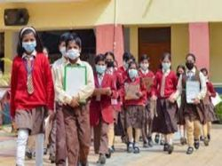 Karnataka School Reopening For Class 6 To 8 From September