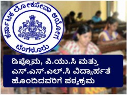Kpsc Group C Exam Pattern And Syllabus For Non Degree Holders