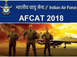 Air Force Afcat 2018 Applications Invited