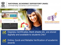 National Academic Depository Nad For Digital Marks Cards