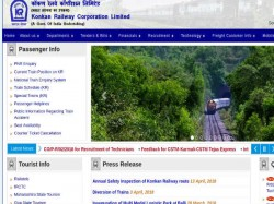 Konkan Railway Recruitment For Various Posts
