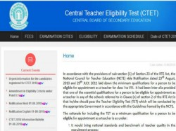 Ctet Admit Card 2018 To Be Released On November