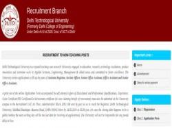 Dtu Recruitment 2019 147 Non Teaching Ministerial Technica