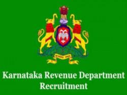Revenue Department Yadgir Recruitment 2019 20 Village Accoun