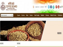 Coffee Board Recruitment 2019 For Consultant Promotion Pos