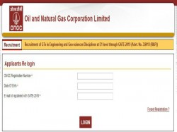 Ongc 2019 Aae Chemist Geologist Other Posts Admit Card