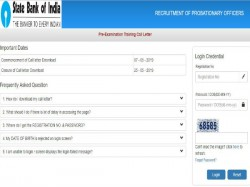 Sbi Pre Exam Training Admit Card 2019 Released For Po Posts