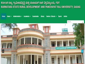 Karnataka State Rural Development And Panchayat Raj University Admissions